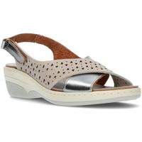 Schoenen Dames Sandalen / Open schoenen Interbios SANDALEN  3023 STAAL