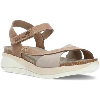 Schoenen Dames Sandalen / Open schoenen Interbios DAMES SANDALEN  6910 GRIJS