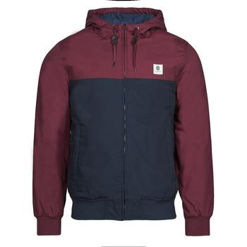 Textiel Heren Wind jackets Element DULCEY TWO TONES Bordeau