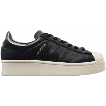 Schoenen Dames Sneakers adidas Originals Wmns Superstar Bold FV3354 Zwart