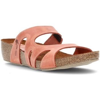 Schoenen Dames Leren slippers Interbios W DAKPAN