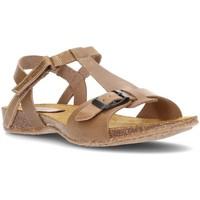 Schoenen Dames Sandalen / Open schoenen Interbios SANDALEN AFRODITE BRUIN