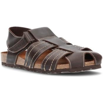 Schoenen Heren Sandalen / Open schoenen Interbios SANDALEN GESLOTEN 9533 MOKA
