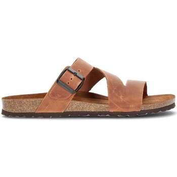 Schoenen Heren Leren slippers Interbios HEBILLA Z DE ONZE