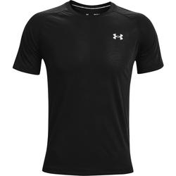 Textiel Heren T-shirts korte mouwen Under Armour Streaker SS Zwart
