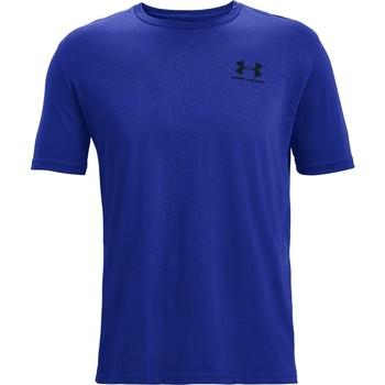 Textiel Heren T-shirts korte mouwen Under Armour Sportstyle Left Chest Blauw