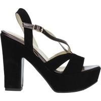 Schoenen Dames Sandalen / Open schoenen Grace Shoes TQ 126 Zwart