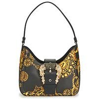 Tassen Dames Handtassen lang hengsel Versace Jeans Couture METARIA Zwart / Print / Barok