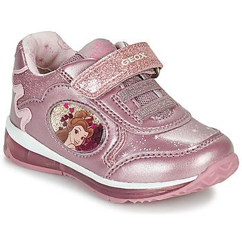 Schoenen Meisjes Lage sneakers Geox TODO Roze