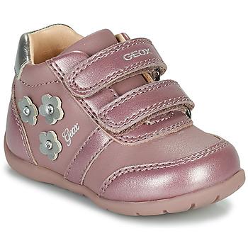 Schoenen Meisjes Lage sneakers Geox ELTHAN Roze