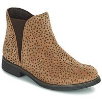 Schoenen Meisjes Laarzen Geox AGATO Bruin