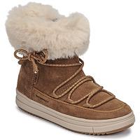 Schoenen Meisjes Laarzen Geox REBECCA WPF Camel