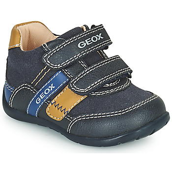 Schoenen Jongens Lage sneakers Geox ELTHAN Marine