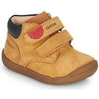 Schoenen Jongens Laarzen Geox MACCHIA Bruin