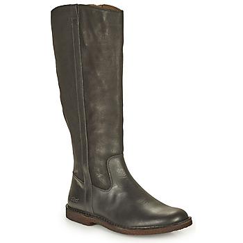 Schoenen Dames Hoge laarzen Kickers TINTTA Zwart