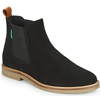 Schoenen Dames Laarzen Kickers TYGA Zwart