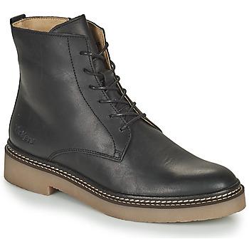 Schoenen Dames Laarzen Kickers OXIGENO Zwart