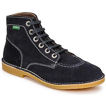 Schoenen Dames Laarzen Kickers ORILEGEND Marine