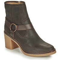 Schoenen Dames Hoge laarzen Kickers AVECOOL Bruin