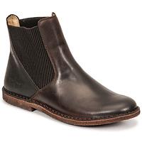 Schoenen Dames Laarzen Kickers TINTO Bruin