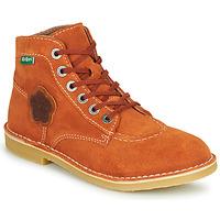 Schoenen Dames Laarzen Kickers ORILEGEND Rood