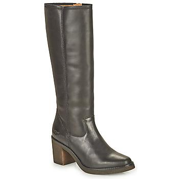 Schoenen Dames Hoge laarzen Kickers AVEDRIM Zwart