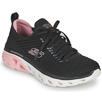 Schoenen Dames Lage sneakers Skechers GLIDE-STEP SPORT Zwart / Roze