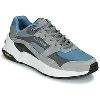 Schoenen Heren Lage sneakers Skechers GLOBAL JOGGER Grijs / Blauw