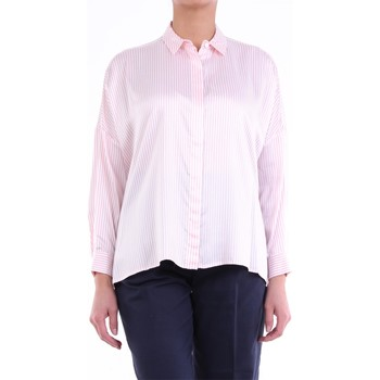 Textiel Dames Overhemden Peserico S0642601195 Pink and white