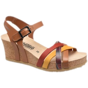 Schoenen Dames Sandalen / Open schoenen Mephisto MEPHLANNYcamel marrone