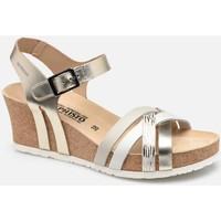 Schoenen Dames Sandalen / Open schoenen Mephisto MEPHLANNYgold marrone