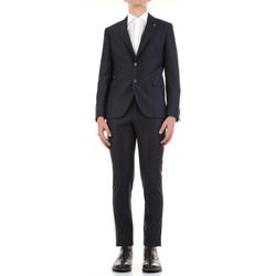 Textiel Heren Kostuums Manuel Ritz 3030A3328-213032 Blu