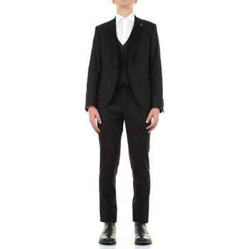 Textiel Heren Kostuums Manuel Ritz 3030ARW3149-213050 Nero