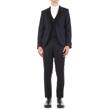 Textiel Heren Kostuums Manuel Ritz 3030ARW3149-213050 Blu