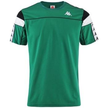 Textiel Heren T-shirts korte mouwen Kappa Banda Arar T-Shirt Vert