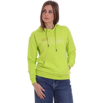 Textiel Dames Sweaters / Sweatshirts Fila 683502 Groen