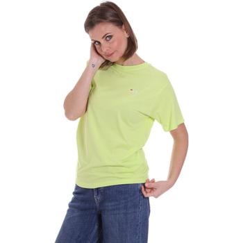 Textiel Dames T-shirts korte mouwen Fila 687469 Groen
