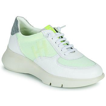 Schoenen Dames Lage sneakers Hispanitas CUZCO Wit / Geel