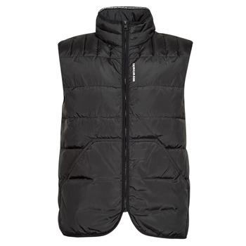 Textiel Heren Dons gevoerde jassen Calvin Klein Jeans PADDED VEST Zwart