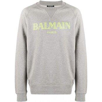 Textiel Heren Sweaters / Sweatshirts Balmain SH13279 Grijs