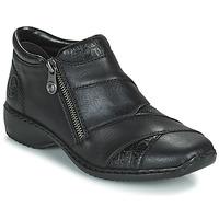 Schoenen Dames Laarzen Rieker SALOMA Marine