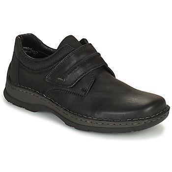 Schoenen Heren Derby Rieker EARNA Zwart