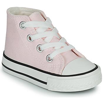 Schoenen Meisjes Hoge sneakers Citrouille et Compagnie OFRIMOUSSE Lavendel