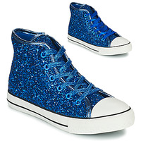 Schoenen Meisjes Hoge sneakers Citrouille et Compagnie OUTIL Blauw