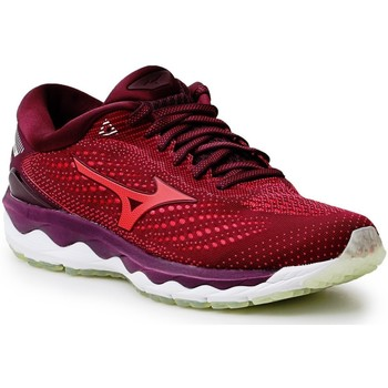 Schoenen Dames Running / trail Mizuno Wave Sky 3 J1GD190259 burgundy