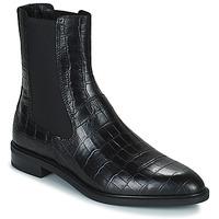 Schoenen Dames Laarzen Vagabond Shoemakers FRANCES Zwart