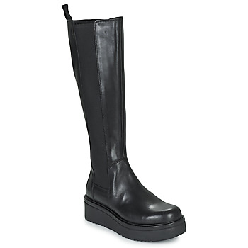 Schoenen Dames Hoge laarzen Vagabond Shoemakers TARA Zwart
