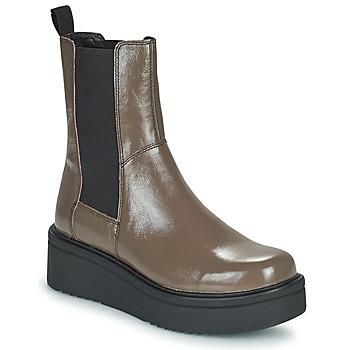 Schoenen Dames Laarzen Vagabond Shoemakers TARA Bruin / Clair