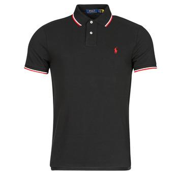 Textiel Heren Polo's korte mouwen Polo Ralph Lauren CALMIRA Zwart