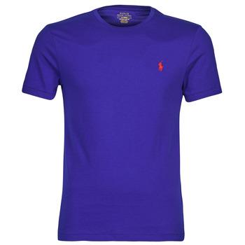Textiel Heren T-shirts korte mouwen Polo Ralph Lauren SOPELA Blauw